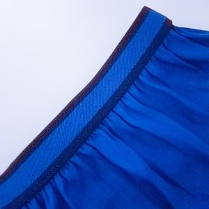 Electric blue Zara maxi skirt